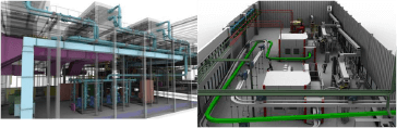 Casa Luker, modelado 3d estructuras e interconexiones. Ingeniería conceptual. Caso de Éxito Mecanicad.